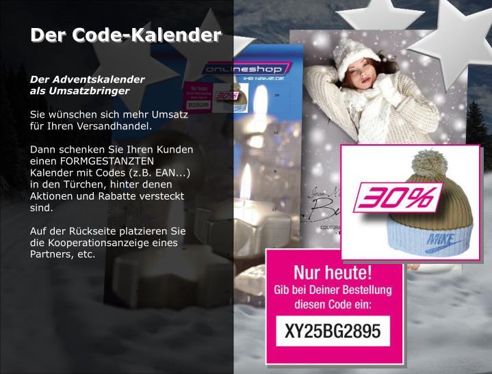 Der Code-Kalender