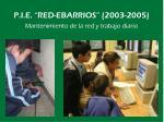 p i e red ebarrios 2003 20055