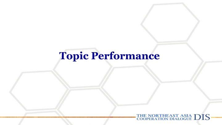 Topic Performance