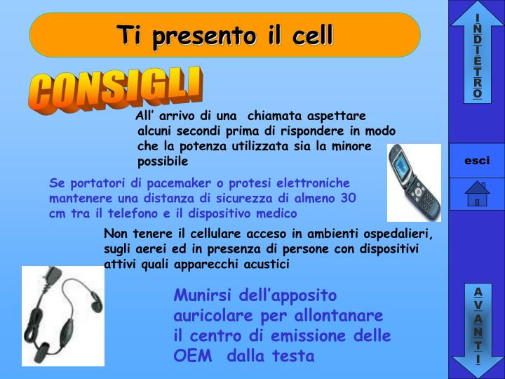 Ti presento il cell