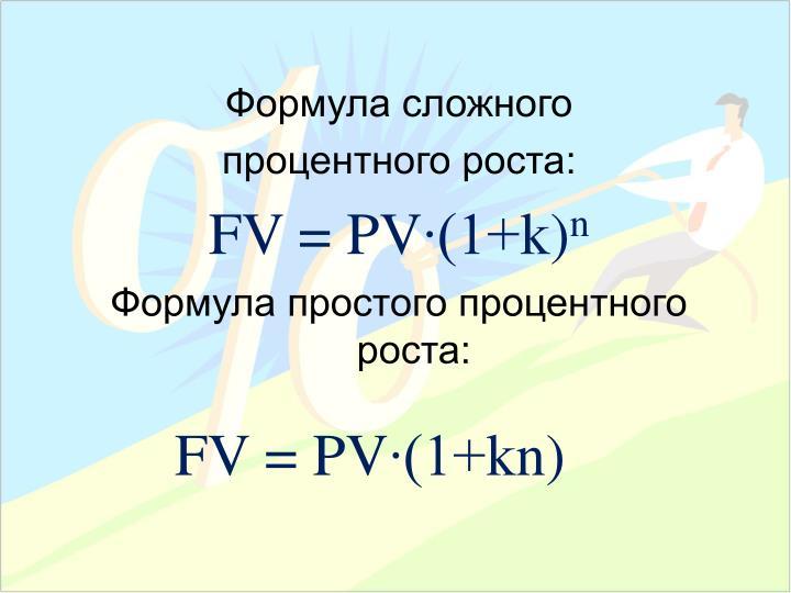 Формула сложного