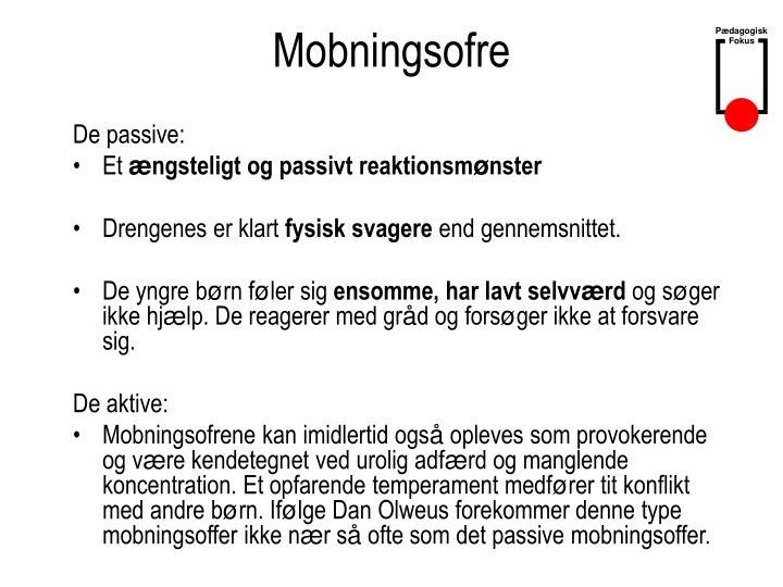 Mobningsofre