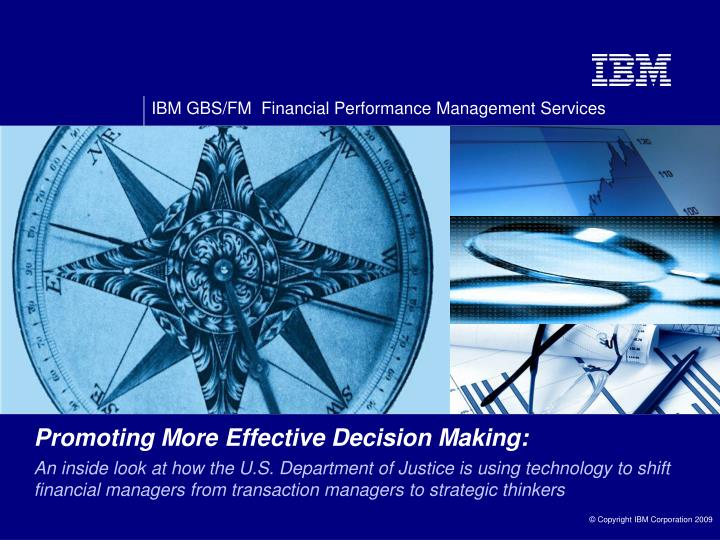 Promoting More Effective Decision Making: