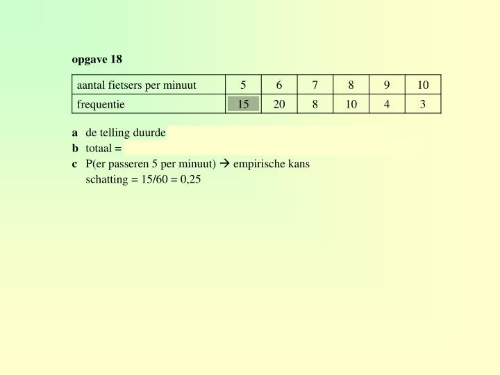 opgave 18