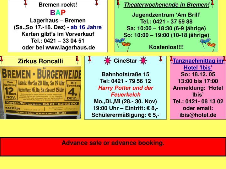Bremen rockt!