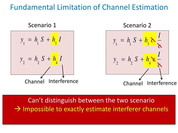 Fundamental Limitation of Channel Estimation
