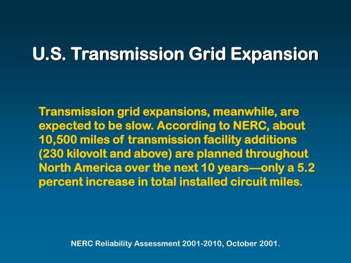 U.S. Transmission Grid Expansion