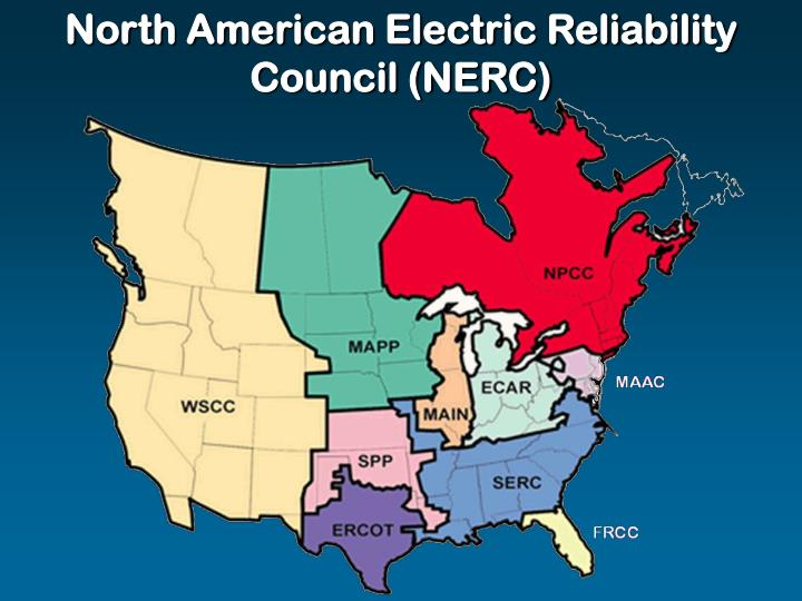 North American Electric Reliability Council (NERC)