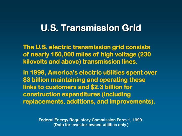 U.S. Transmission Grid