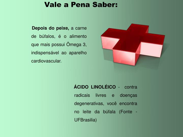Vale a Pena Saber: