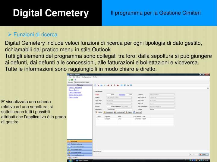 Digital Cemetery
