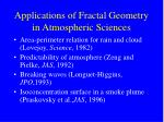 applications of fractal geometry in atmospheric sciences