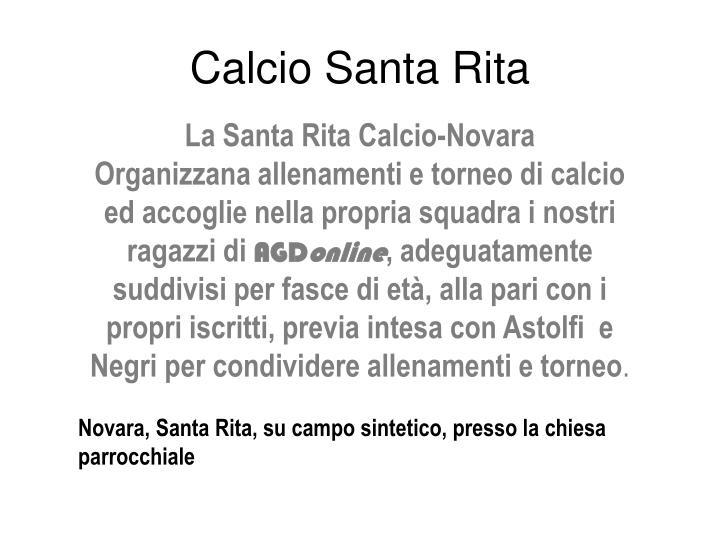 Calcio Santa Rita