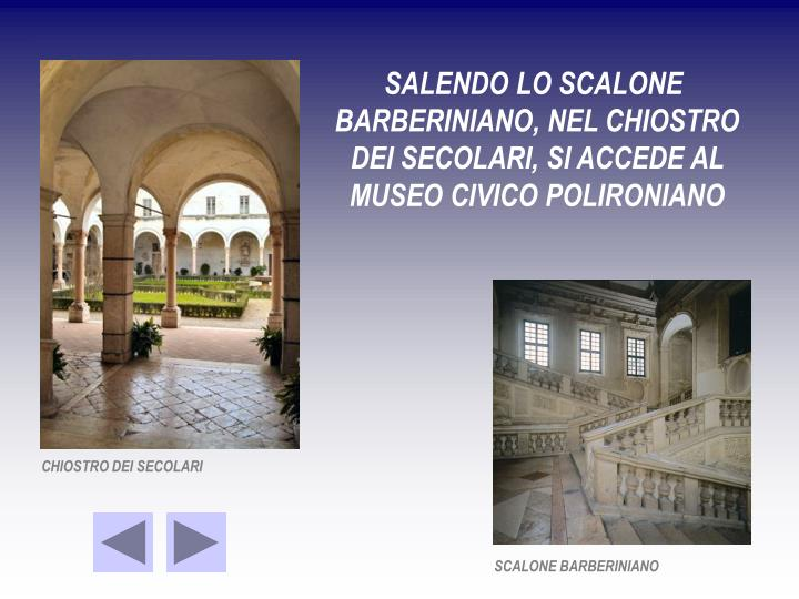 SALENDO LO SCALONE