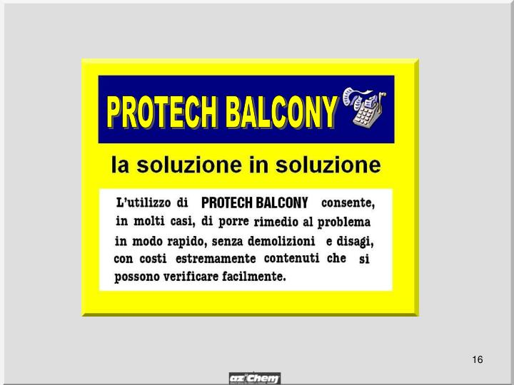 PROTECH BALCONY