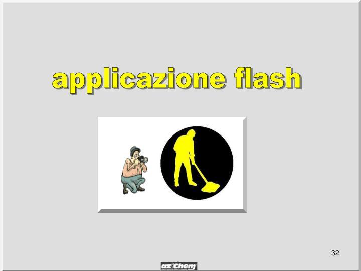 applicazione flash