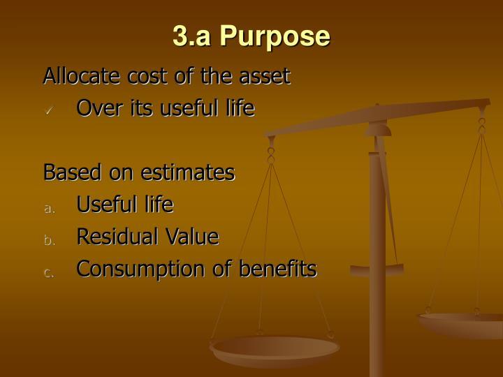 3.a Purpose