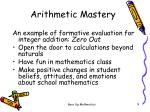 arithmetic mastery2