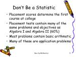 don t be a statistic3
