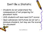 don t be a statistic4