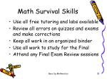 math survival skills2