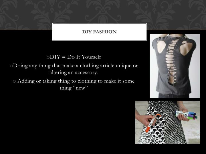 Diy fashion1