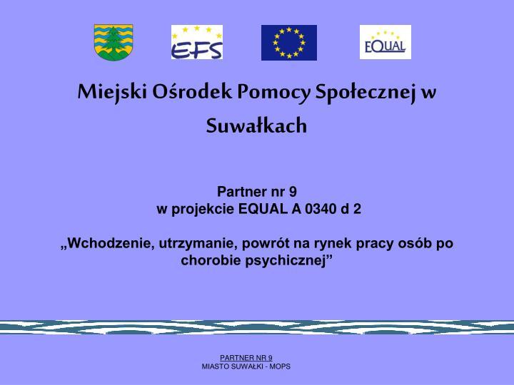 Miejski Ośrodek Pomocy Społecznej w Suwałkach