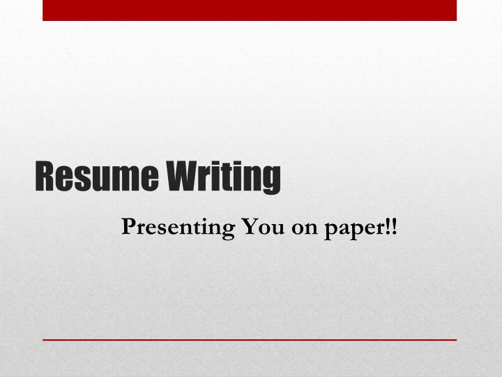 Presenting You on paper!!