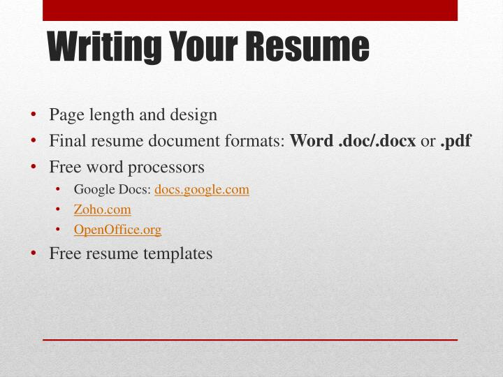 Page length and design