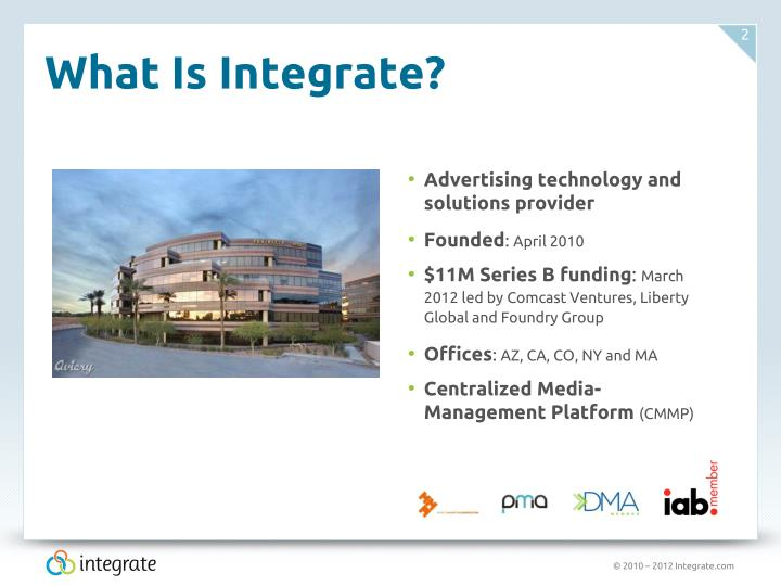 What is integrate