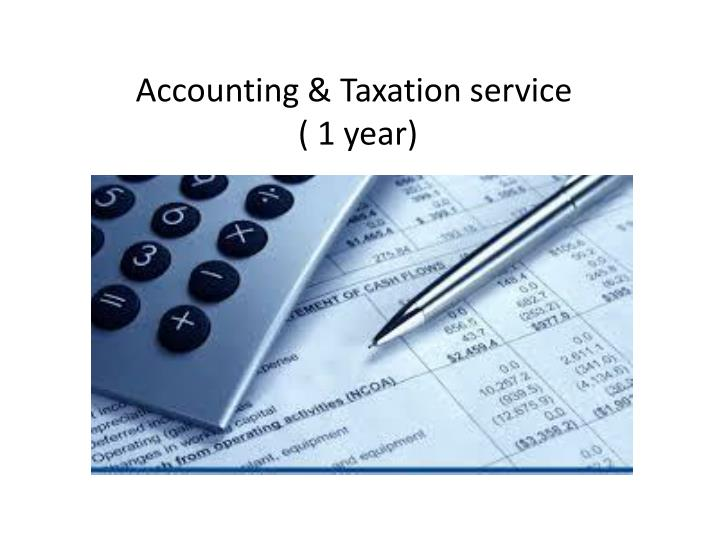 Accounting & Taxation service