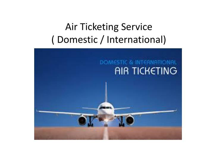 Air Ticketing Service