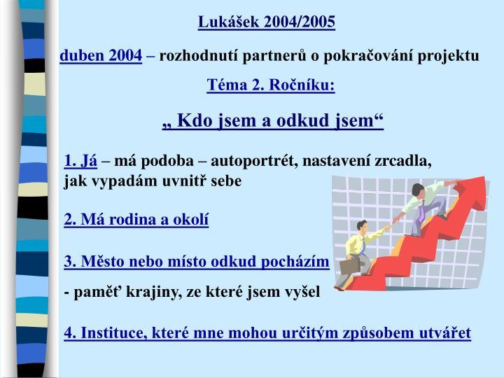 Lukášek 2004