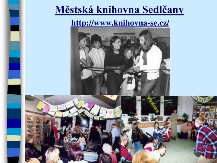 Městská knihovna Sedlčany