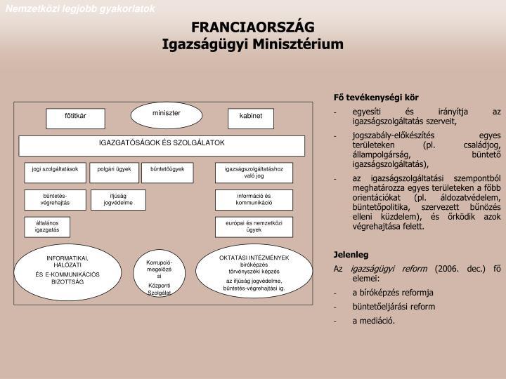 Fő tevékenységi kör