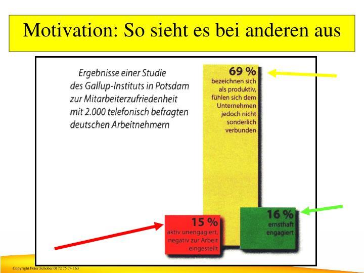 Motivation: So sieht es bei anderen aus