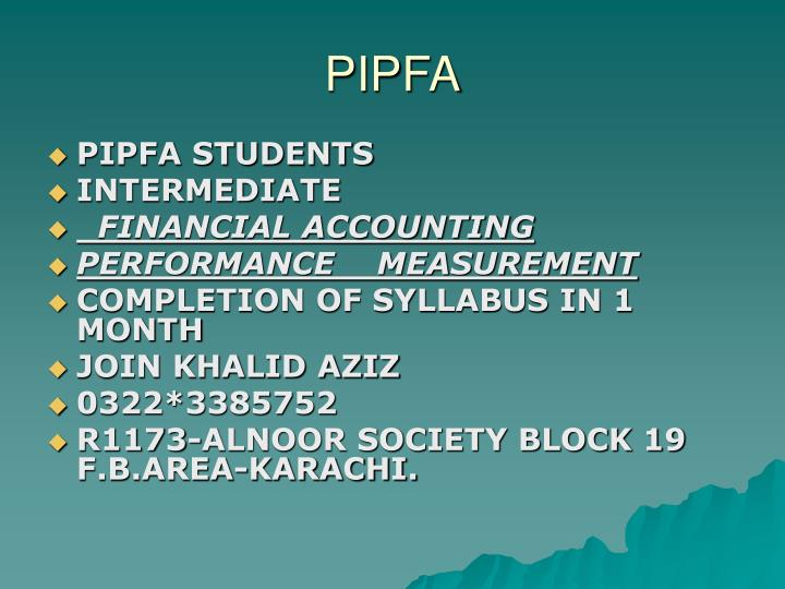 PIPFA