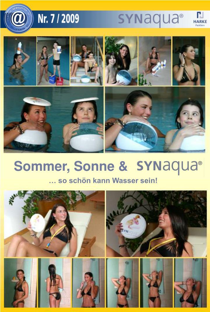 Sommer, Sonne &