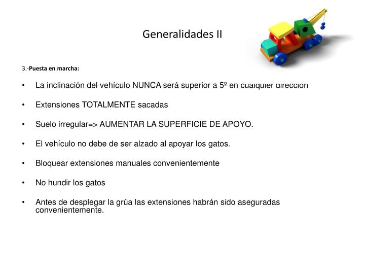 Generalidades II