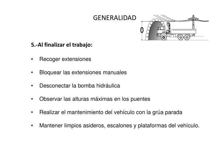 GENERALIDADES IV
