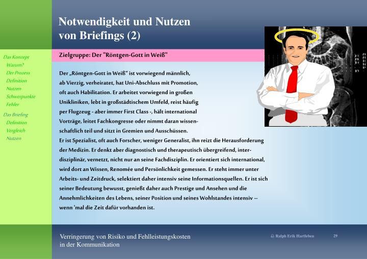 """Zielgruppe: Der """"Röntgen-Gott in Weiß"""""""