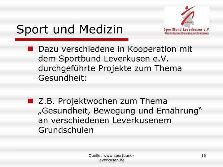Sport und Medizin