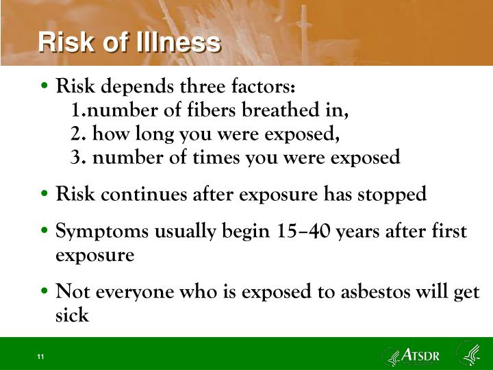 Risk of Illness