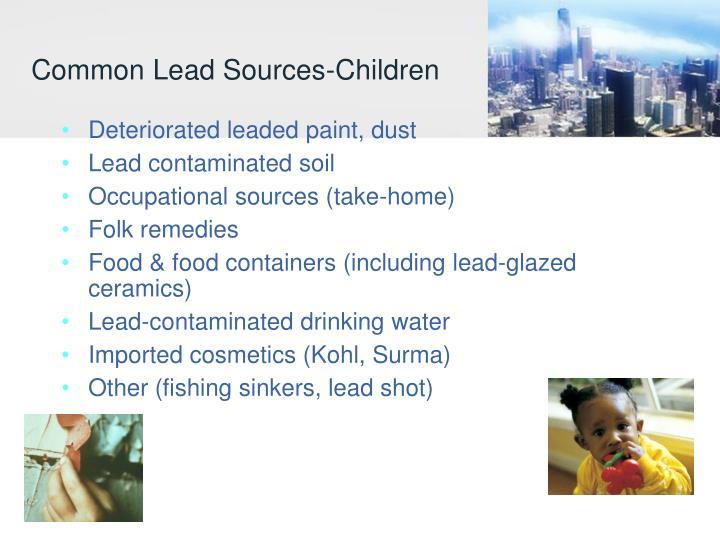 Common Lead Sources-Children