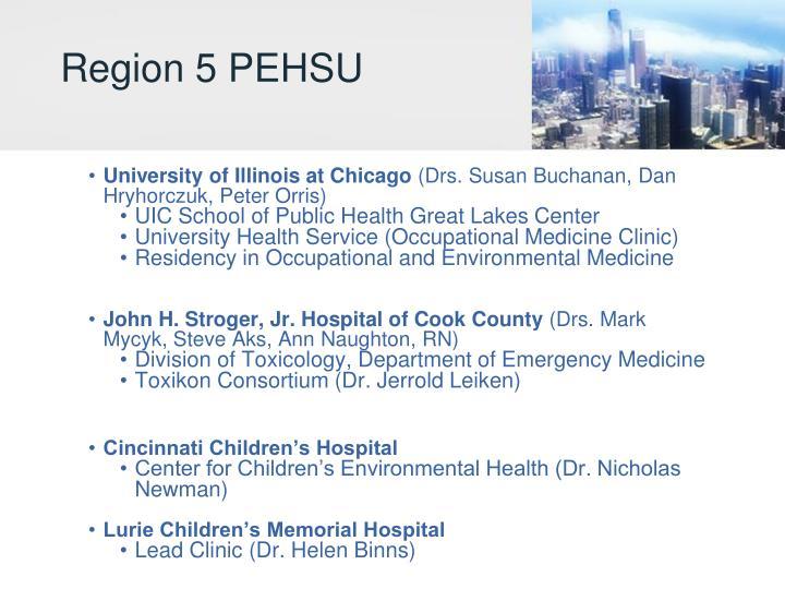 Region 5 PEHSU
