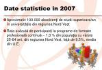 date statistice n 2007