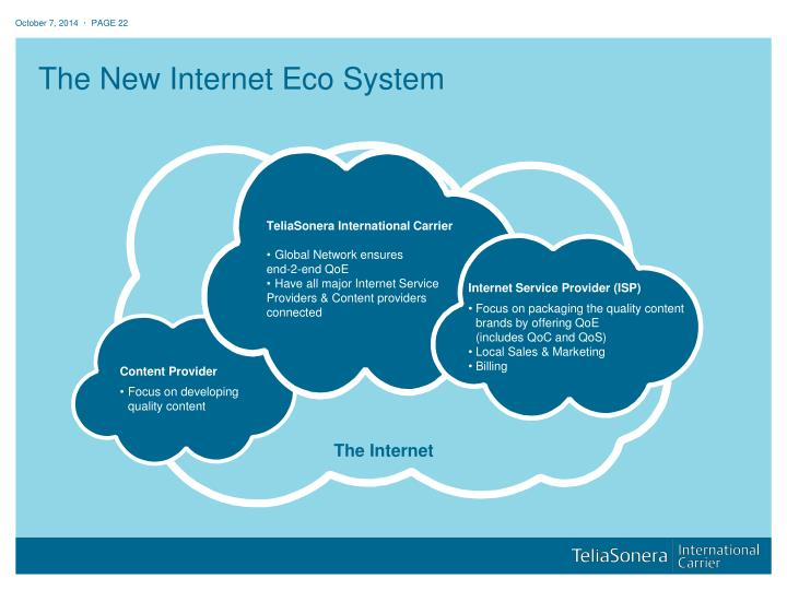 The New Internet Eco System
