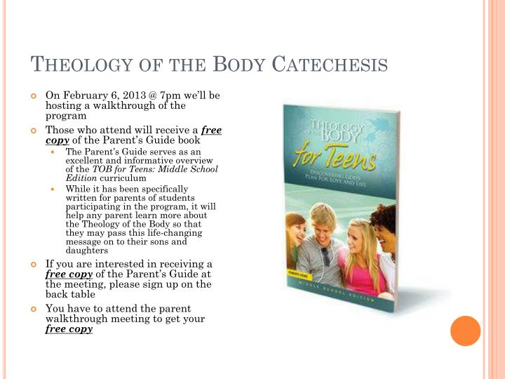 Theology of the Body Catechesis