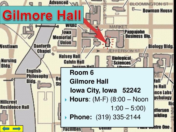 Gilmore Hall
