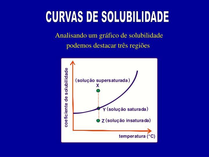 CURVAS DE SOLUBILIDADE